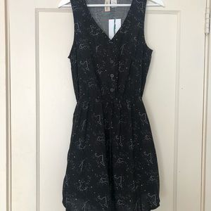 MiMi Chica Constellation Print Dress: